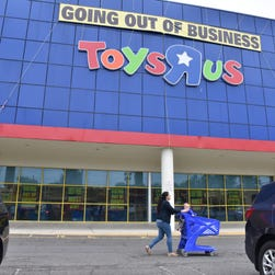 One last toy run! All Toys R Us stores will close on or before Friday