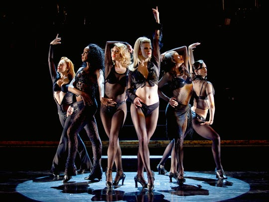 "The women of ""Chicago."" The musical plays through Sunday at Artis-Naples."