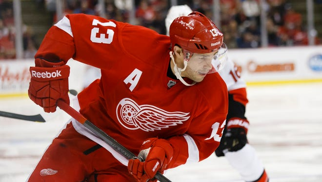 Detroit Red Wings center Pavel Datsyuk is sitting out Sunday's game.