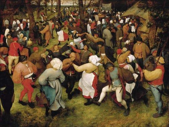 """""""The Wedding Dance"""" Pieter Bruegel the Elder, ca. 1566,"""