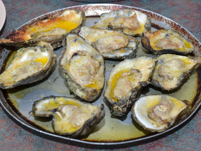 Shucks is well-known for its variety of oysters.