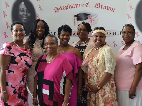 Members of the Stephanie Brown Memorial Scholarship