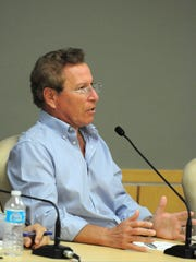 Marco Island City Manager Roger Hernstadt, shown in 2014, resigned in April 2017.