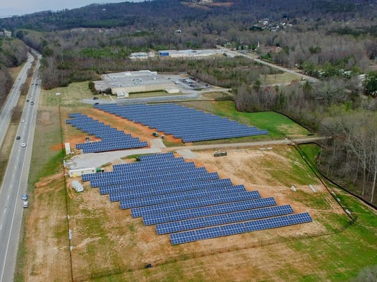 Furman University uses a 6-acre solar farm to compliment is power needs.