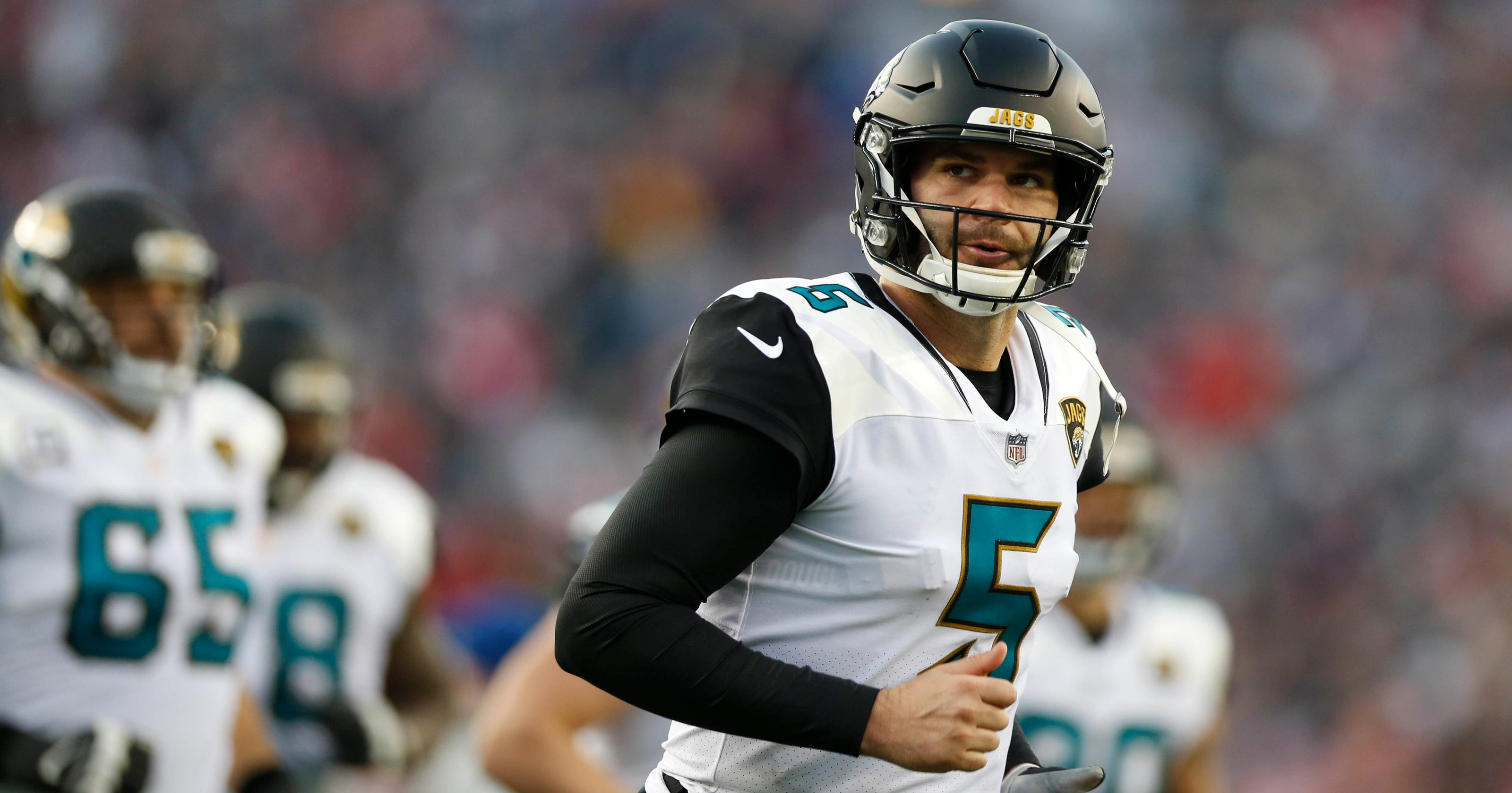 b8de9a46e Jaguars training camp questions  Blake Bortles holds key to offense s  progress