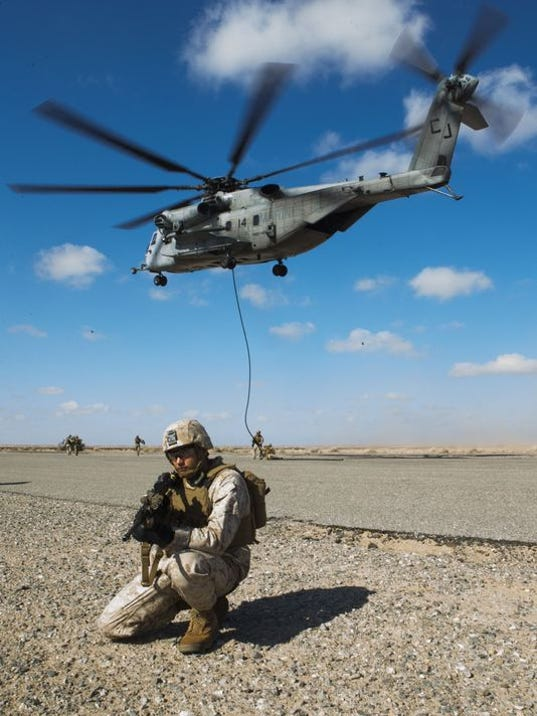 Marine CH-553 helicopter