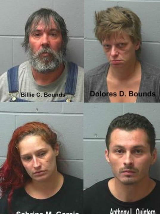Heroin overdose defendants