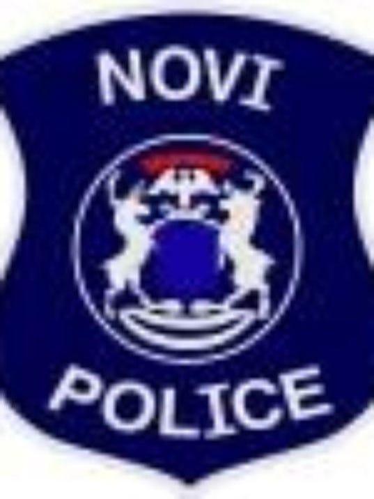 Novi police badge