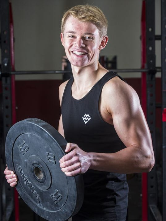 ... bodybuilder — the youngest ever in the U.K. (Photo: John Paul