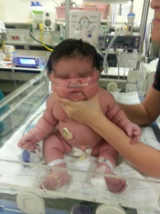 16 lb baby pic: