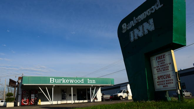 The Burkewood Inn in Lansing Township is home to Homeless Angels, a nonprofit that helps get people off the streets.