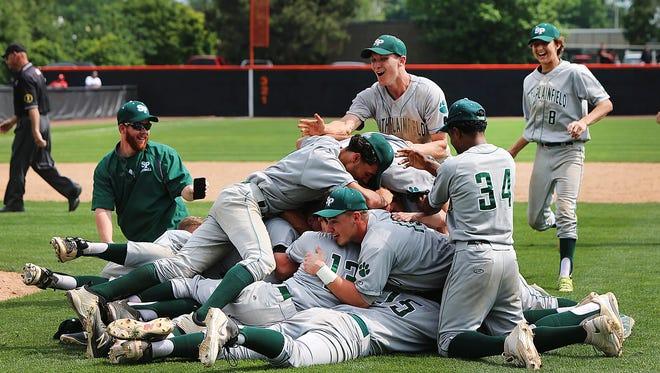 South Plainfield celebrates 2018 GMCT baseball championship