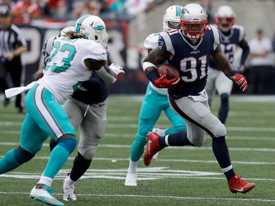 Monday's move will reunite Jamie Collins with Lions coach Matt Patricia, who served as the linebacker's defensive coordinator in New England from 2013-16.