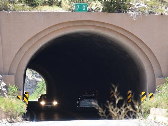 The tunnel, which was built in 1949, will undergo reinforcement measures and crews will install drainage improvements.