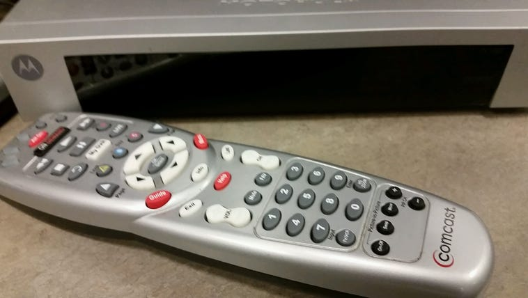 Comcast remote control