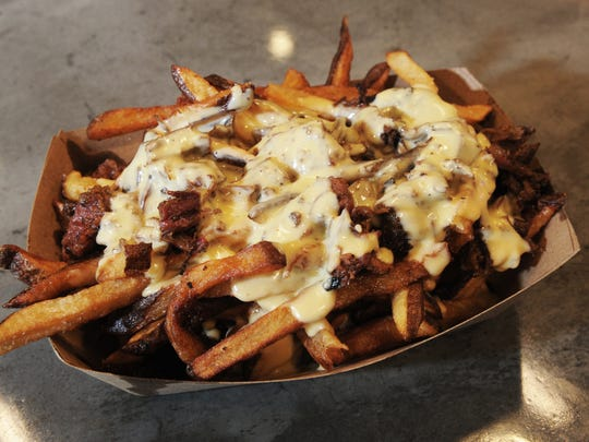 Pastrami fries are on the menu at Scratch Sandwich Counter in The Annex at The Collection at RiverPark in Oxnard.