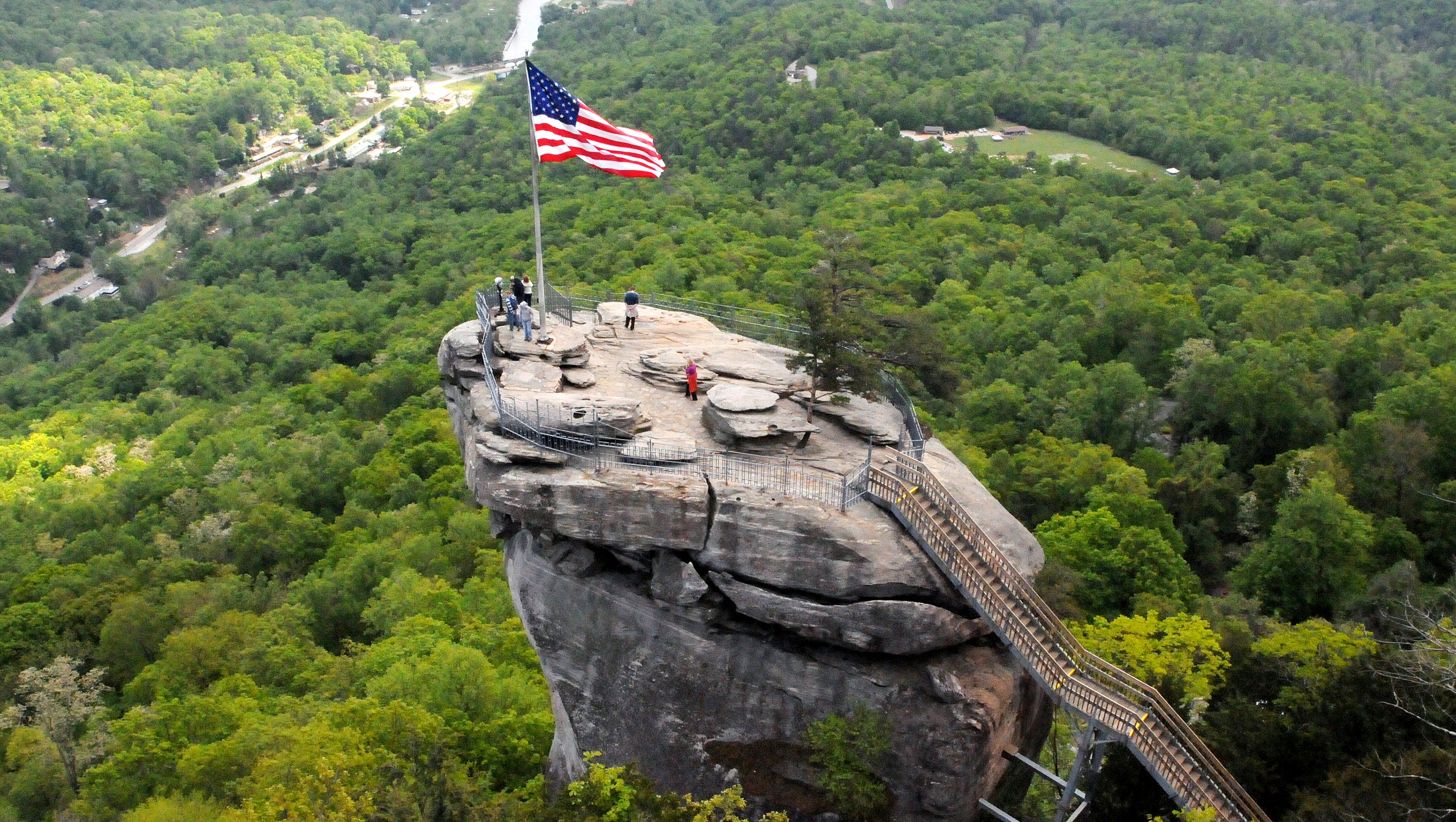 Chimney Rock State Park And The Outcroppings Trail