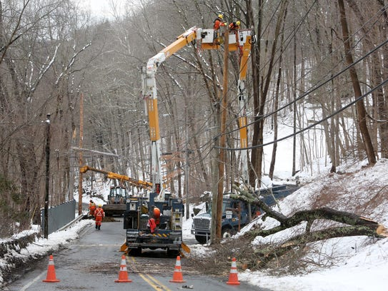 2:16 p.m. A utility company from Quebec, Canada, helps