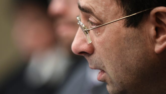 Larry Nassar was sentenced Wednesday to up to 175 years in prison for sexually abusing more than 150 girls and women.
