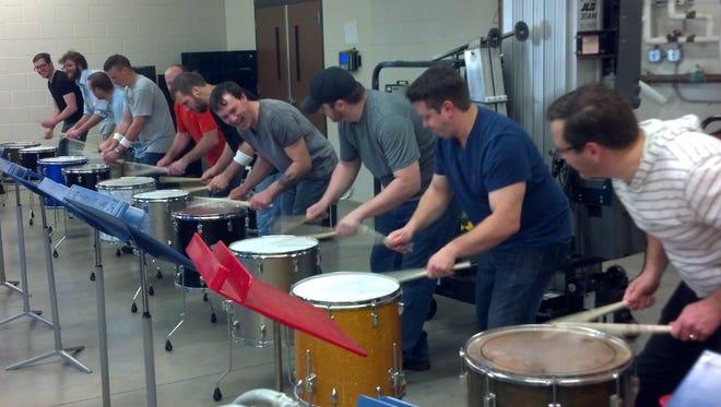 About 60 Rocori drum line alumni will participate in Saturday's tribute to Dick Rausch.
