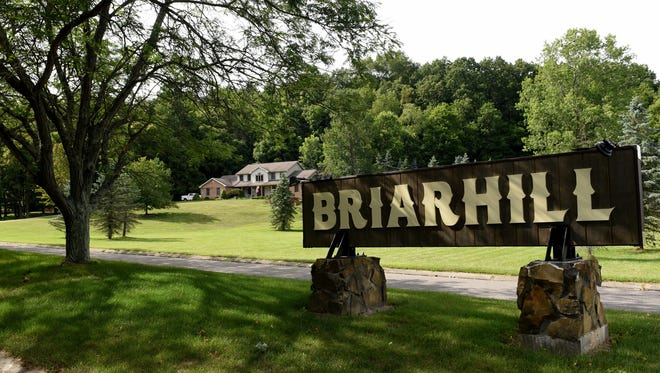 The Briarhill subdivision off of King Road is part of part of Newark Township.