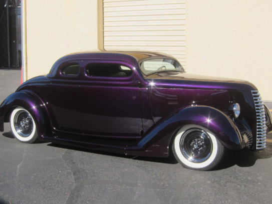 Jesse James' 1936 Ford 5-window Custom Coupe