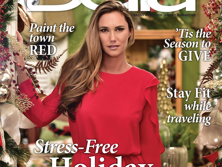 December's Bella Magazine. Cover model, Ashley Sherrill.