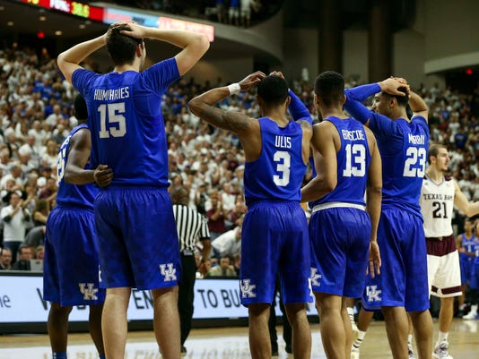 NCAA Basketball: Kentucky at Texas A&M