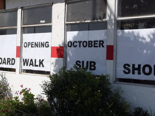 Boardwalk Sub Shop will open in October at the former Red's Burger Shop, South Main Street, Salinas