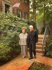 Bud and Karen Lawton pose for a photo in a 2002 profile