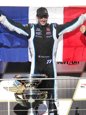 Simon Pagenaud won last year's inaugural Grand Prix of Indianapolis