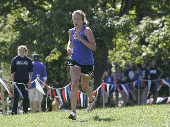 Mother of Mercy runner Emma Hatch finishes in second