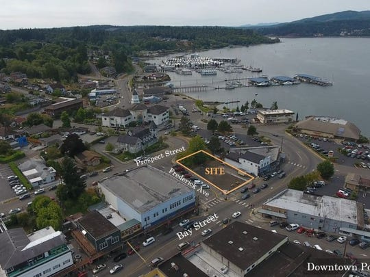 Waterman Investment Partners LLC plans a five-story mixed use development at 640 Bay Street on a city lot the group plans to buy from the city of Port Orchard. The city council approved a purchase and sale agreement on July 10, 2018.