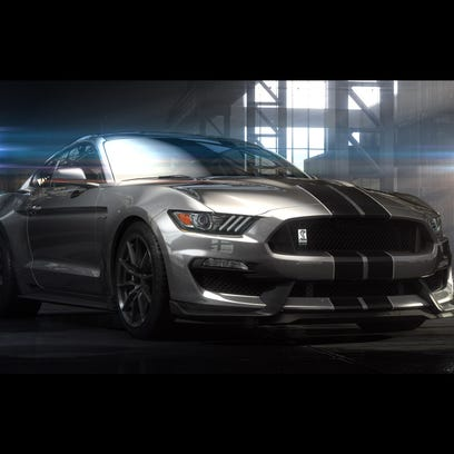 Ford reveals hot Mustang GT350