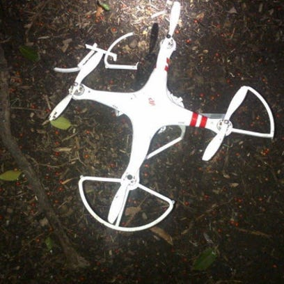 Drone that crashed onto the White House grounds early