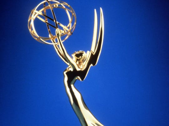 The Emmy awards statuette