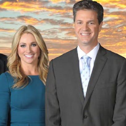 KHOU 11 News meteorologists: Brooks Garner; Chita Johnson;