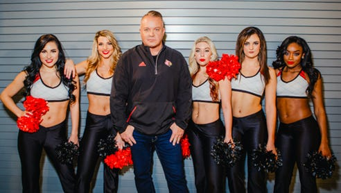 """Coach Todd Sharp and the Univeristy of Louisivlle Ladybirds dance team will premiere in their own reality show on Lifetime. """"So Sharp"""" premiers July 26 at 10 p.m."""