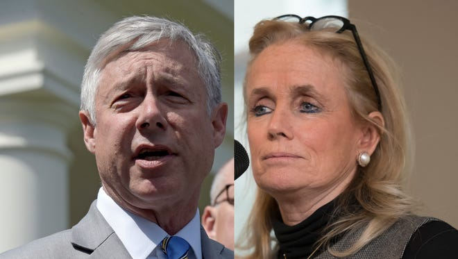 Rep. Debbie Dingell and Rep. Fred Upton are pressing immigration officials to stop the deportation of a journalist who is participating in a fellowship at the University of Michigan.