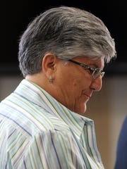 Maria Patamia in Superior Court, Morristown, in July 2016.