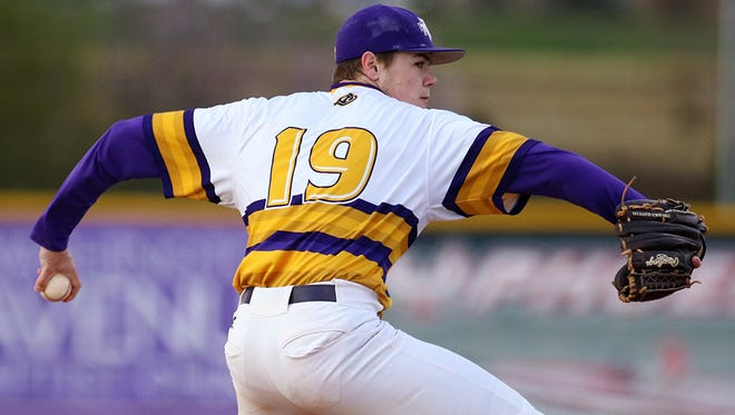 Alex Hursey pitched a complete games shutout in Tennessee Tech's 10-0 win over Belmont on Sunday.