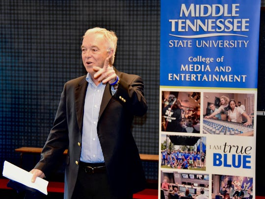 Ken Paulson will step down as dean of MTSU's College of Media and Entertainment this summer. He will remain with the college as a professor, and plans to launch a First Amendment advocacy initiative.