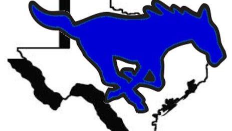 City View Mustangs athletic teams logo