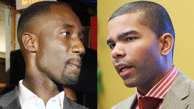 Yarber (left) and Lumumba