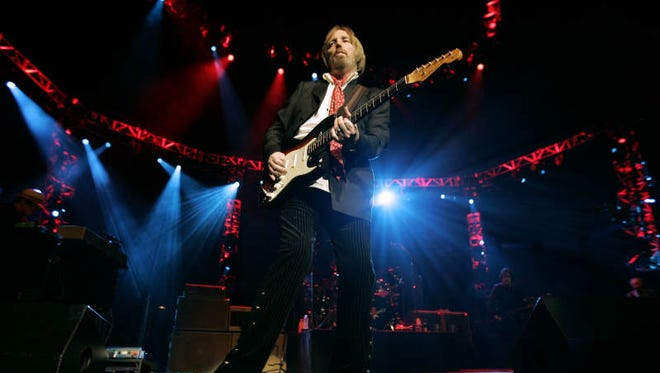 Tom Petty performs with the Heartbreakers at Bridgestone Arena Thursday in Nashville. (Aug. 12, 2010)