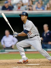 Detroit Tigers centerfielder Anthony Gose was hitting .304 on June 2 but is now batting just .214 over the past 30 games.
