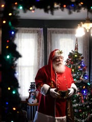 Lebanon resident John Gable embraces his part in the holiday season. For just over a decade, Gable has been dressing the part and playing Santa Claus.