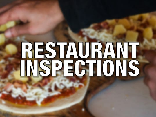 STOCKIMAGE: Restaurant inspections