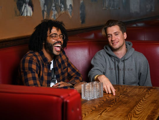 Daveed Diggs (left) and Rafael Casal are, like their