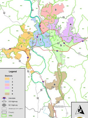 A House committee on Thursday passed a bill that would create a district system for electing Asheville City Council.
